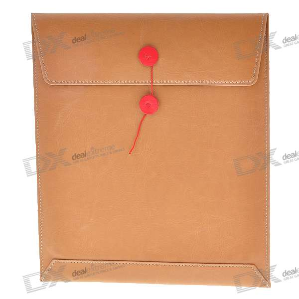 Slim-Fit Envelope Style Protective Carrying Bag for   Ipad (Brown)