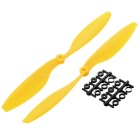 Replacement Nylon 1045 CW & CCW Propellers Set - Yellow + Black
