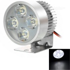 YK01 5W 4-LED Headlamp Cool White 9000K 340lm for Electrombile / Motorcycle / Tricycle (12~80V)