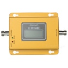 "GSM+WCDMA 2G/3G Cell Phone Signal Booster Repeater Amplifier w/ 1.8"" Screen - Gold + Grey ( US Plug)"