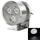 YK01 4W 3-LED Headlamp Cool White 8000K 280lm for Electromobile / Motorcycle / Tricycle (12~80V)