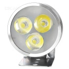 YK01 4W 3-LED Headlamp Cool White 280lm for Electromobile / Motorcycle