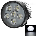 YK01 15W Cold White 6-LED Headlamp for Electromobile / Motorcycle