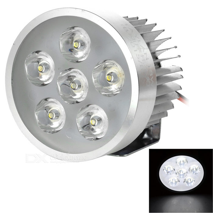 YK01 5W 6-LED Headlamp Cold White 480lm for Electromobile / Motorcycle
