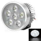 YK01 5W 6-LED Headlamp Cool White 9000K 480lm for Electromobile / Motorcycle / Tricycle (12~80V)