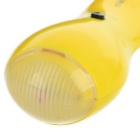 Mini Vibrating Body Relaxation Massager - Yellow (2 x AA)
