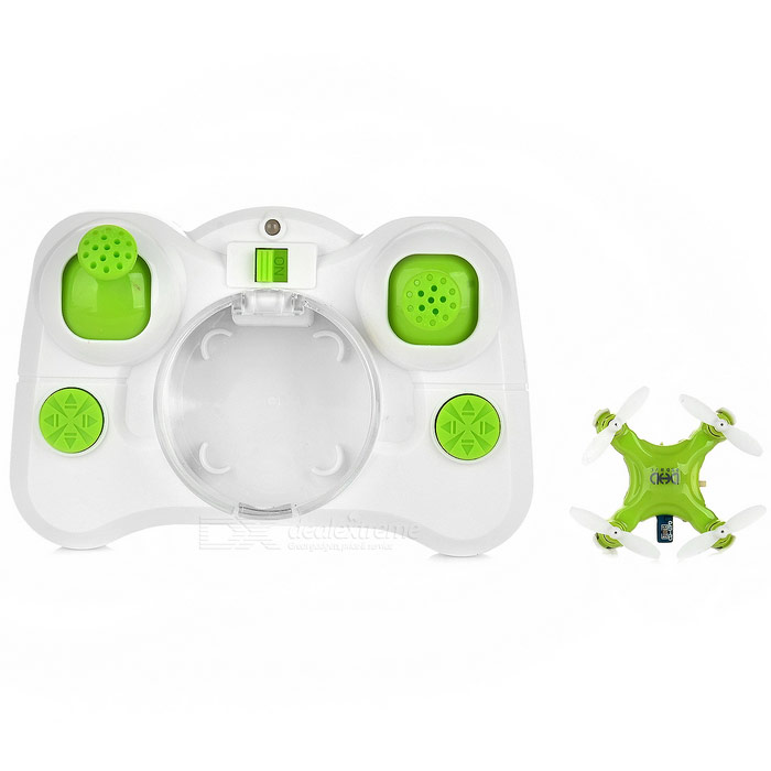 D1 2.4GHz 4-CH 6-Axis mini r / c quadcopter w / gyro - groen + wit