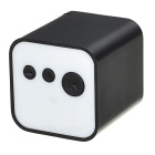 Mini USB MP3 player con ranura TF / conector jack de 3,5 mm - negro + blanco