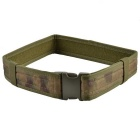 "2"" Outdoor Adjustable Tactical Nylon Belt - Green"