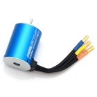 3650 4 Poles 5200KV Brushless Motor for 1/10 RC Car / Boat - Blue