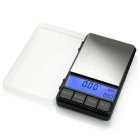 "Prointxp PMDT 2.6"" Large Screen Digital Pocket Jewelry Scale - Black (200g / 0.01g)"