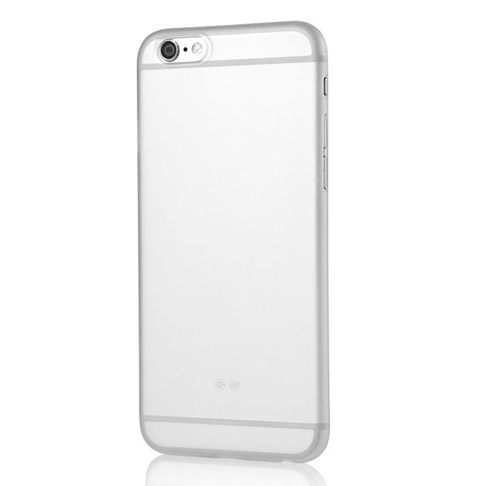 Benks Lollipop Ultra-thin Protective PP Case for IPHONE 6 PLUS - WhitePlastic Cases<br>Form ColorWhiteQuantity1 DX.PCM.Model.AttributeModel.UnitMaterialPPCompatible ModelsIPHONE 6 PLUSDesignSolid Color,MatteStyleFull Body CasesCertificationRoHSOther Features0.4mm thickness only.Packing List1 x PP Case1 x Graphic illustration<br>
