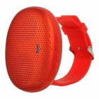 Creative Mini Portable Bluetooth V4.0 Wrist Speaker w/ Micro USB / TF - Red