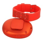 Creativo mini bluetooth v4.0 wrist altavoz w / micro USB / TF - rojo