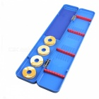 Multi-function Plastic Fishing Gear Float Box - Blue + Red