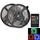 JRLED Waterproof 60W LED Light Strips RGB 6000lm SMD 3528 w/ Music 2.0 Controller (UK Plug / 2 PCS)