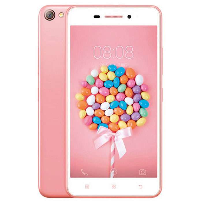 Lenovo S60W Quad-Core Android 4.4 4G Phone w/ 2GB RAM, 8GB ROM - Pink