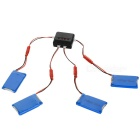 X4A-B03 4-730mAh Batteries + 1-to-4 Charger + TOL Converter + Charger + Data Cable + More Set