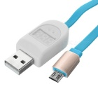 USB 2.0 / Micro 5pin Flat Charging / Current Voltage Test Cable (1m)