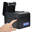 72mm Thermal Receipt Printer Bill Printing Machine - Black