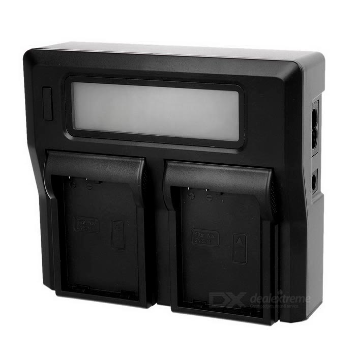 "3"" display display dual display battery charger para nikon EL14 (us)"
