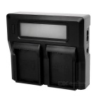 "3"" Display Screen Dual Display Battery Charger for Nikon EL14 (US Plug)"