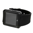 "U10L 1.54"" BT V4.0 Smart Wristwatch w/ Pedometer, Voice Call - Black"