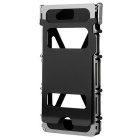 ARMOR KING Full Body Case w/ 2 Windows for IPHONE 5/5S - Silvery Black