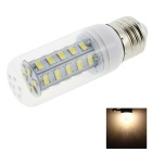 HONSCO E27 4W LED Clear Cover Corn Light Bulb Warm White 300lm 36-SMD