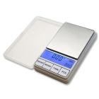 "Prointxp PMDT 2.6"" Large Screen Digital Pocket Jewelry Scale - Silver (200g / 0.01g)"