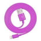 Yellowknife Flat Data Sync / Charging Lightning USB Cable for IPHONE 5 / 5S / 5C - Deep Pink (1m)