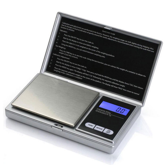 "Prointxp PMST-600 1.4"" Screen Digital Jewelry Scale (600g / 0.1g)"