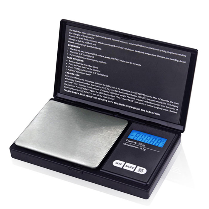 "Prointxp PMST-600 1.4"" Screen Jewelry Scale (600g / 0.1g)"