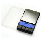 "Prointxp PMDT-500 2.6"" Screen Digital Pocket Jewelry Scale - Black (500g / 0.1g)"