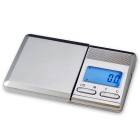 "Prointxp 1.58"" Screen Digital Pocket Jewelry Scale - Silver (350g / 0.1g / 2 x AAA)"