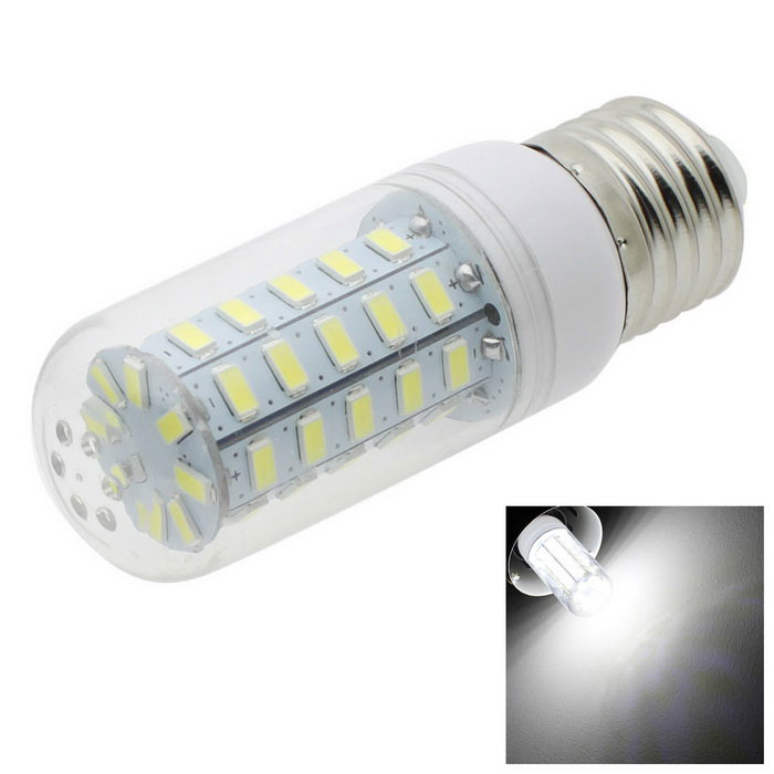 HONSCO E27 4.5W LED Corn Bulb Lamp Cold White Light 350lm 48-SMD 5730