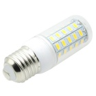 HONSCO E27 4.5W LED Corn Bulb Lamp Warm White 3000K 48-SMD Clear Cover