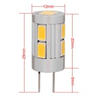 MZ 5W G4 Warm Wit 10 SMD 300lm Car Decode LED leeslamp licht