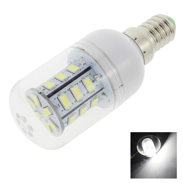 HONSCO E14 3W LED Corn Lamp Cold White 6500K 270lm 24-SMD (AC 220V)