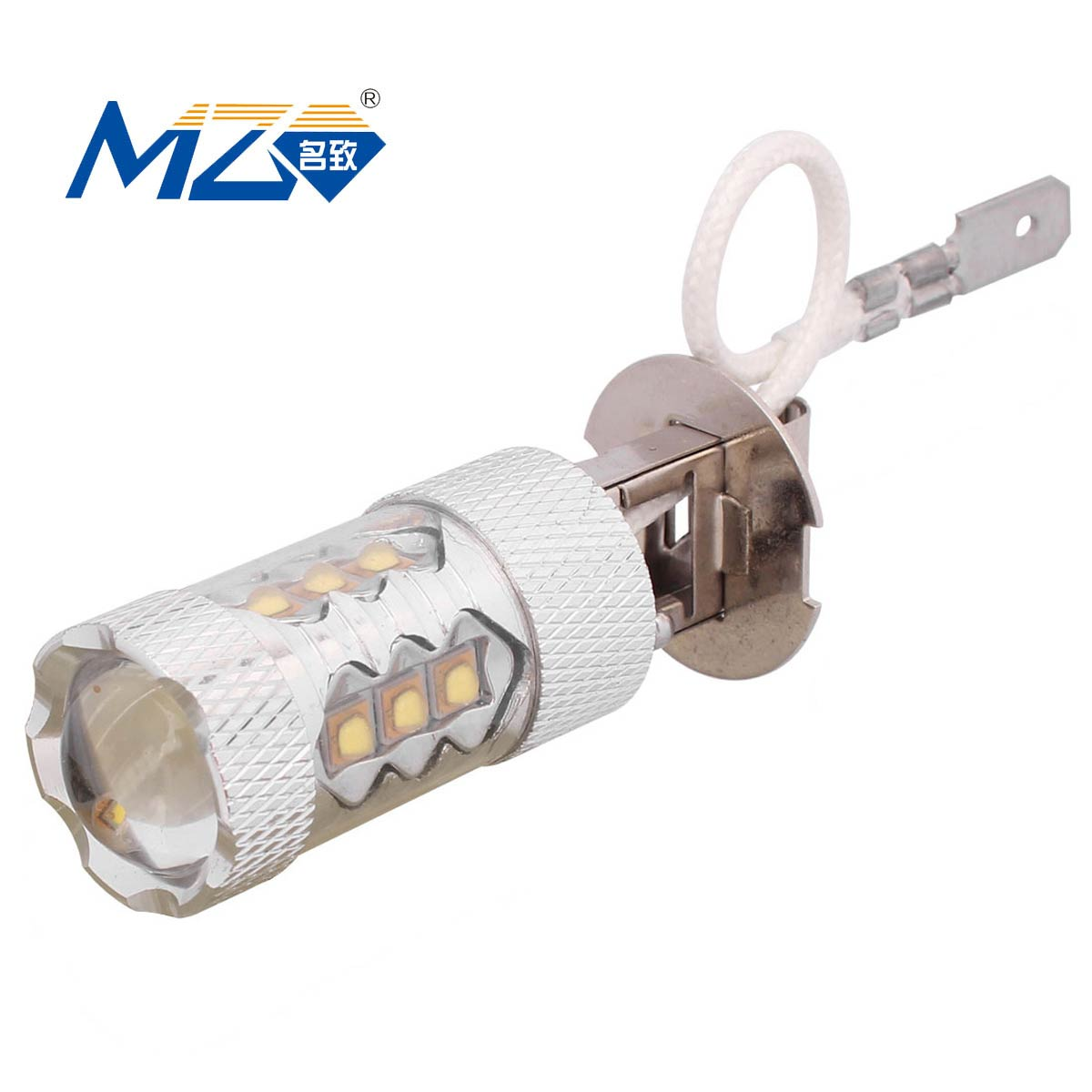 MZ H3 80W 16-XT-E LED Car Front Foglamp White Light Constant Current