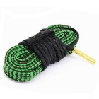 Gun Barrel Cleaning Nylon + Steel Wire Cord Rope for 223CAL - Black + Green (188cm)