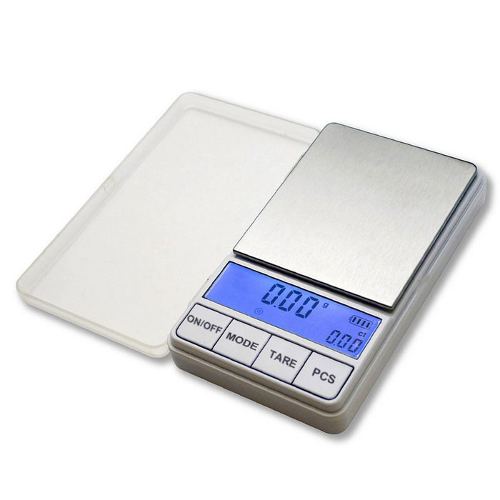 "Prointxp PMDT-500 2.6"" LCD Digital Pocket Scale (500g/0.1g / 2*AAA)"