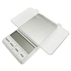 "Prointxp PMDT-500 2.6"" LCD Digital Pocket Scale - White (500g/0.1g / 2 x AAA)"
