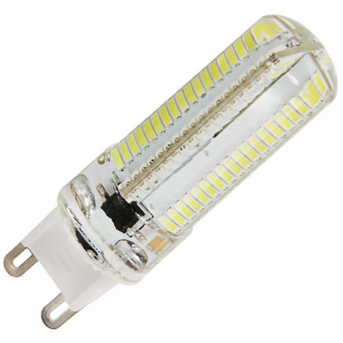 dimmable g9 7w led corn bulb cold white light 152 3014 smd 5pcs free shipping dealextreme. Black Bedroom Furniture Sets. Home Design Ideas