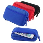 "Protective Shockproof Bag Pouch for 2.5"" Hard Disk Drive + More - Red"