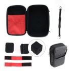 HJ Waterproof Hand Bag / Carry Case for DJI Futaba JR R/C - Black