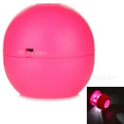 Ball Shaped 2.5X Simple Telescope w/ LED Light - Deep Pink