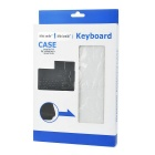 Mini Smile Bluetooth Keyboard w/ Case for Samsung Tab A P550 - White