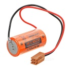 AITELY 3.6V ER17330 Lithium Battery w/ Plug for ER17300V / ER17/33