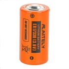 AITELY Replacement 3.6V ER17330 Lithium Battery for ER17300V / ER17/33 / ER17330V - Orange + Black